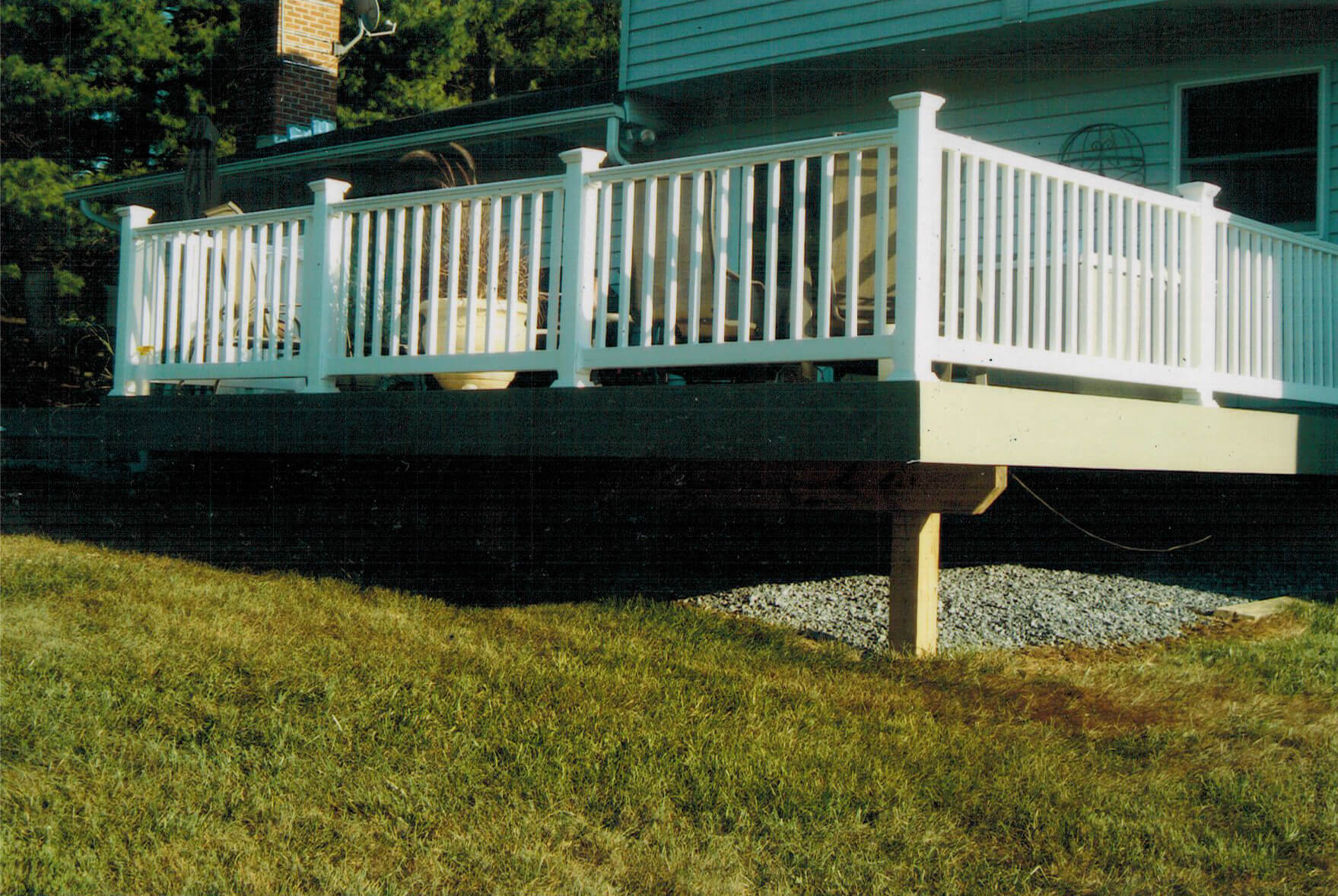 custom deck howard county md contractor dan nichols