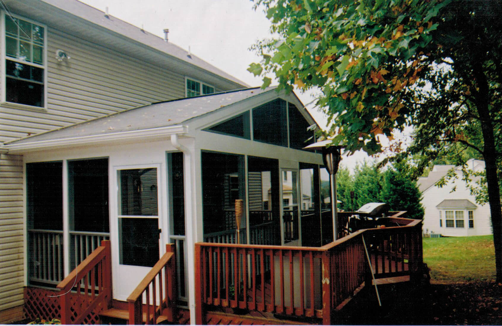 deck addition general contractor lefleur