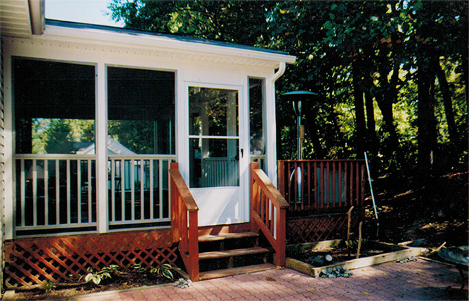 eldersburg outside porch deck addition md
